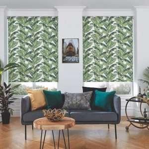 Louvolite Palm Leaf Roller Blind 2_MAIL