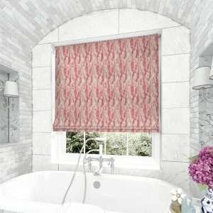 Fresco Pink Roman Blind