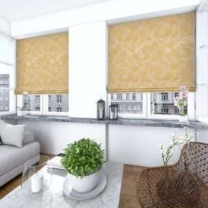 Lacey Amber Roman Blind