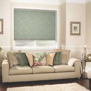 Louvolite Collina Lilly Pad Roller Blind