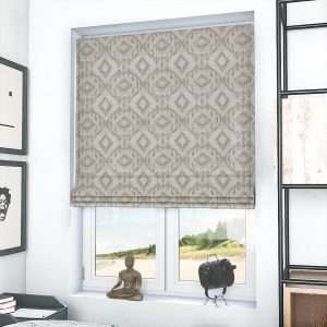 Paolo Taupe Roman Blind