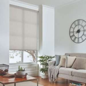 Parchment Wicker Roller Blind